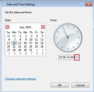 Checking The Time & Date