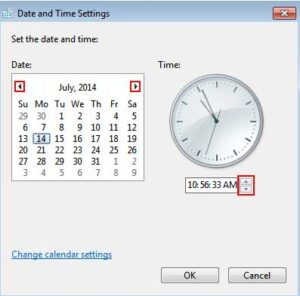 Setting The Correct Time And Date