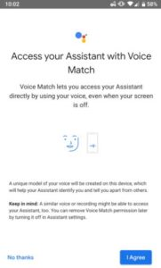 Turning The Voice Access Off For The Google Assistant