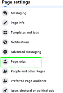page-roles