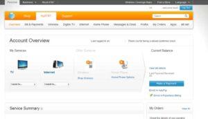 My AT&T Account Overview