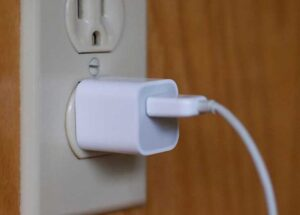 Plugged In The Charger