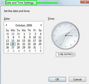 PC Date And Time